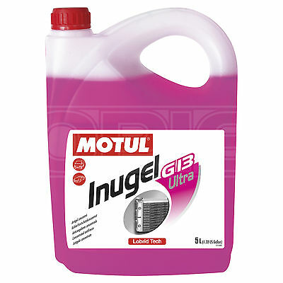 Motul INUGEL G13 Ultra Concentrated VW Antifreeze - 5 Litres 5L