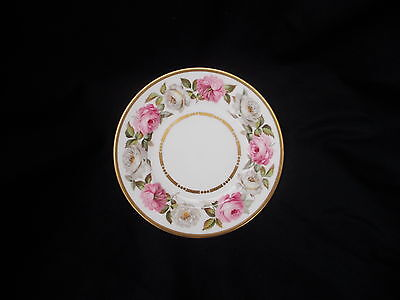 Royal Worcester ROYAL GARDEN  Side Plate.  Diameter 6 1/8 inches