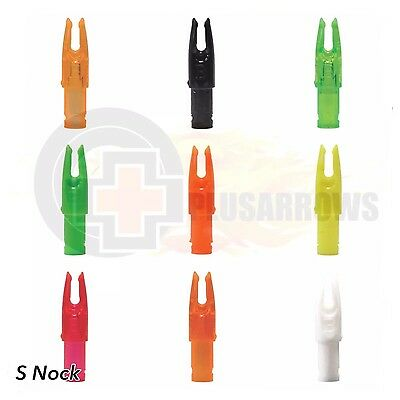 Bohning Signature Nocks 12pack for Archery Arrows Replaces Easton Super Nock