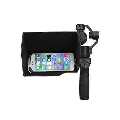 "Sun Hood Sun Shade Cover 5.5"" Mobile Phones Samsung Iphone for DJI OSMO Camera"