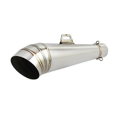 Stainless Steel GP Exhaust Muffler Pipe Slip-On for Street Sport Motorcycle 51mm