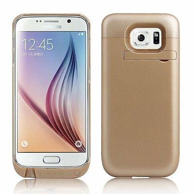 NEW Portable 4500mAh External Battery Charger Case For Samsung Galaxy S6 Edge UK