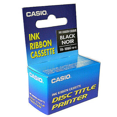 10x Ink Ribbon Cassette TDK LPCW50,100 & Casio CW75 Black Noir Ribbon - LPCW