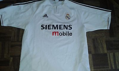 Real Madrid XL Camiseta Futbol Football Shirt
