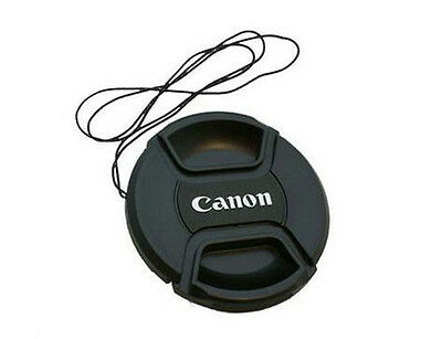 Canon 58mm Snap-on Front Lens Cap with Cord
