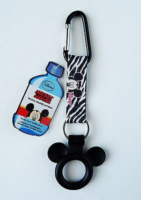 Disney - Mickey Mouse -  Water Bottle Holder Keychain/Keyring - Backpack Clip