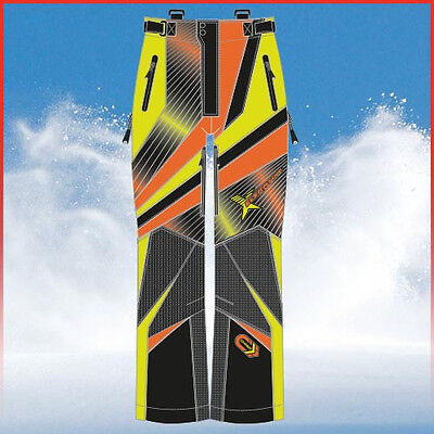 Choko Snowmobile XELERATOR PANTS 590-55PNSFO Orange / Safety Lime Ski doo