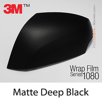 20x30cm FILM Matte Deep Black 3M 1080 M22 Vinyle COVERING New Series Wrap Film