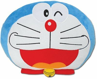 *NEW* Doraemon Wink Smile Pillow by GE Animation