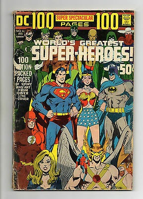 DC 100 Page Super Spectacular No 6 1971 (VG+) Feat: Worlds Greatest Super-Heroes