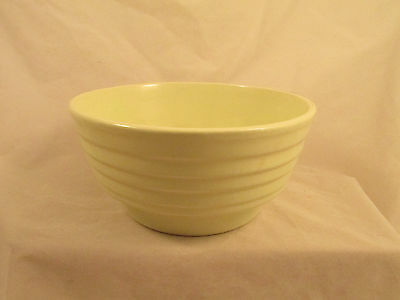 A.N. Pierson Mixing Bowl For 8299,Made USA,Yellow Green,Blemish inside,Age Lines