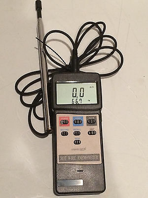 VWR Hot Wire Anemometer / Thermometer -Traceable # 21800-024