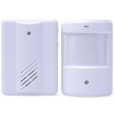 Mini Visitor Door Entry Chime Motion Beam Security Shop Alert Bell Alarm HS116