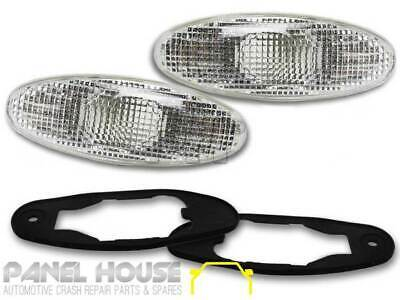 x2 NEW Holden Commodore VT VU VX Sedan Ute Wagon Clear Side Indicator Flashers