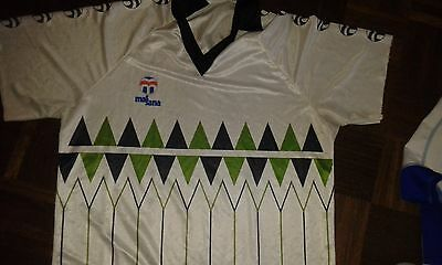 Massana Away Match Worn 4 1980 XXL (manga Cortad Camiseta Futbol Football SHirt