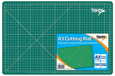 A1 / A2 / A3 / A4 Cutting Mat Printed Grid Lines Knife Paper Board Crafts Models