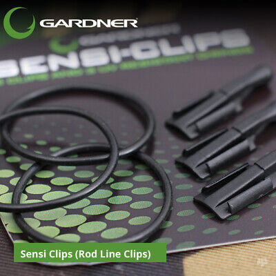 Gardner Tackle Sensi Clips (Rod Line Clips) - Carp Barbel Pike Coarse Fishing