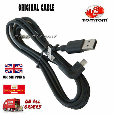 Genuine Tomtom Rider 40 We Sat Nav Gps Usb Charger Data Cable Lead