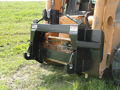 Skid Steer Loader Quick Attach Mount Plate to Category 1 3 Point Adapter