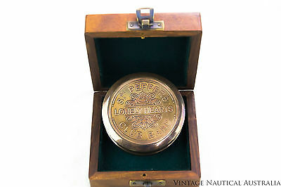 Compass - Sgt Peppers Lonely Hearts Band Brass (Rosewood Box)