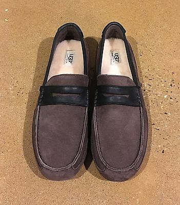 7f0b86e98a3 UGG Tucker Men s Size 13 Stout Loafers Slippers Comfy Driving Shoes Twin  Sole
