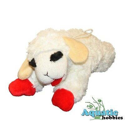 Multipet Lamb Chop Plush & Squeak Toy for Dogs & Puppies CHOOSE SIZE