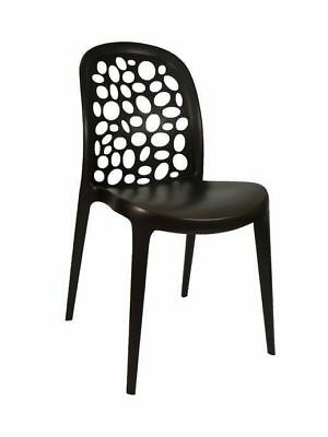 Outdoor CHAIR Restaurant Cafe Seat Dining Chairs Replica Grace Chocolate
