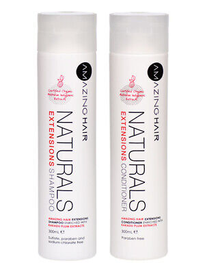 Hair Extension Shampoo & Conditioner by Amazing Hair - Human Hair Extensions