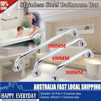"New Grab Bar Stainless Steel Bathroom Mobility Support Handle Rail 12"" 15"" 20"""