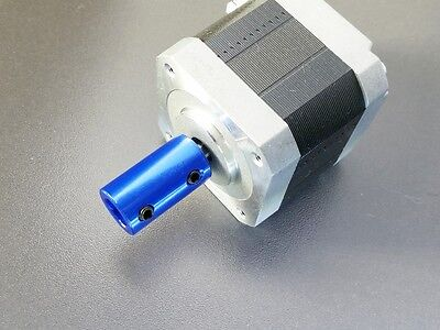 "6.35mm x 6.35mm 1/4"" Small Rigid Shaft Coupler Stepper Servo Motor CNC Coupling"
