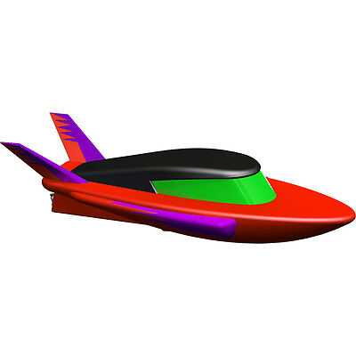 Tub Racers Electric Speed Boat Bath Boat With Rear Propellor