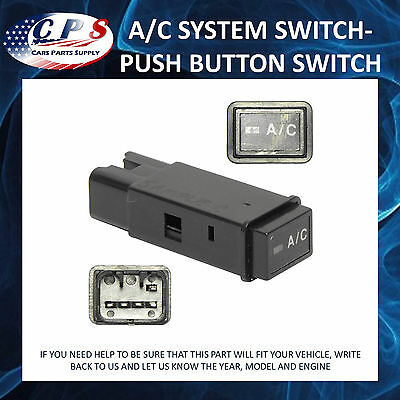 A/C System Switch - Push Button Switch Fits Toyota 4Runner Tacoma UAC SW 1017C