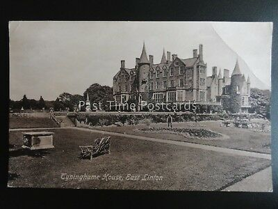 East Lothian EAST LINTON Tyninghame House c1917 Old Postcard by C. Hally & Son
