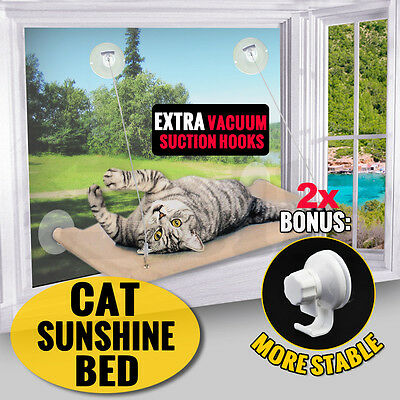 cat Window Mounted bed Cat Seat Pets Sunny Hammock Cover Washable
