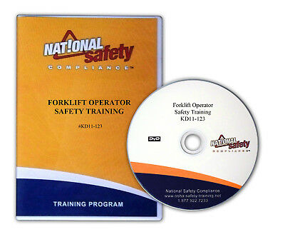 Forklift Operator Safety Training DVD Package (DVD, Booklets & Posters)