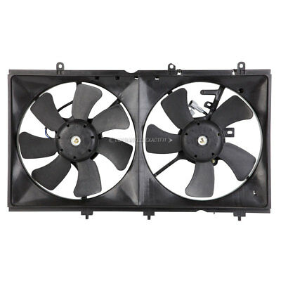Brand New Radiator Or Condenser Cooling Fan Assembly Fits Mitsubishi Lancer
