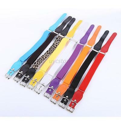 Fashion Kids Belts Boys Girls Joker High Elastic Belt Buckles Waistband