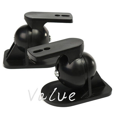 1~4PCS Surround sound speaker brackets Wall mount for Black brackets Holder