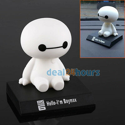 Movie BIG HERO 6 BAYMAX Collections Action Figures Dolls Bobblehead Cute Toys
