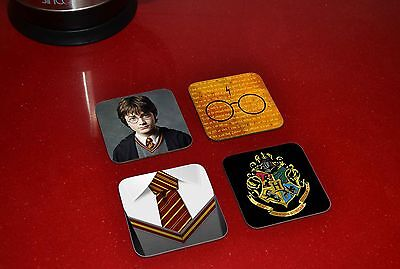 Harry Potter Awesome Wooden Coaster Set