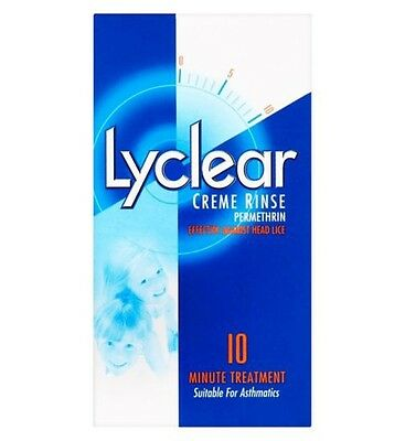 Lyclear Cream Rinse 59ml Fast,Effective Head Lice Treatment Works In 10 Minutes