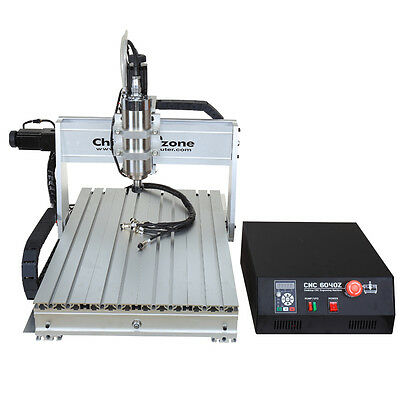 NEW CNC 6040Z-DQ 2200W USB MACH3 3 axis ROUTER ENGRAVER/ENGRAVING USA SHIPPING