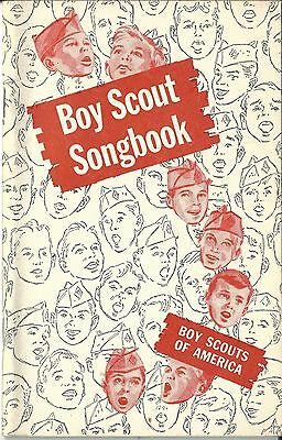 Set of 6 Boy Scout Songbooks, 1958 printing
