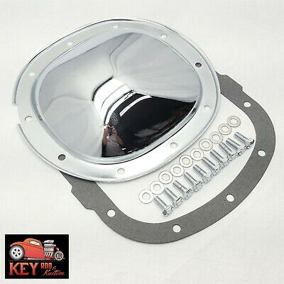 """10 bolt chrome differential rear end cover Chevy GM 7.5 7 1/2"""" S10 camaro 7.625"""