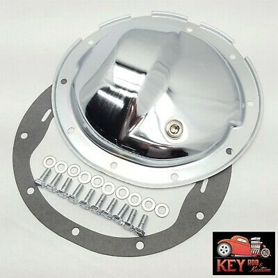 """10 bolt chrome differential rear end cover Chevy GM 8.5 8 1/2"""" truck 1500 camaro"""