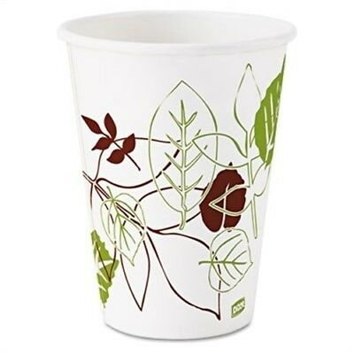 Pathways Polycoated Paper Cold Cups, 12oz, 2400/Carton