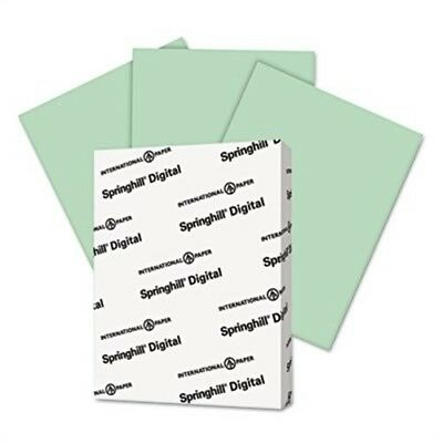 Digital Index Color Card Stock, 90 lbs., 8-1/2 x 11, Green, 250 Sheets/Pack