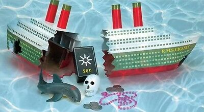 Swimline Ship Wreck Toy Dive Game 9178 NEW Kids Pool Water Fun Swimming Activity