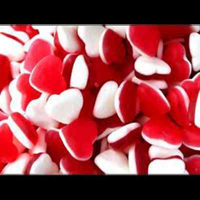 Haribo Heart Throbs - Retro Sweets Party Wedding Candy Buffet Pick n Mix