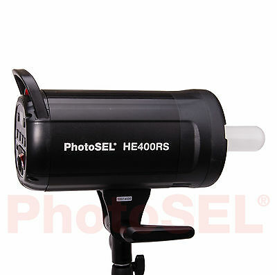 PhotoSEL HE400RS 400Ws Studio Flash Head Monolight Photo Light Lighting